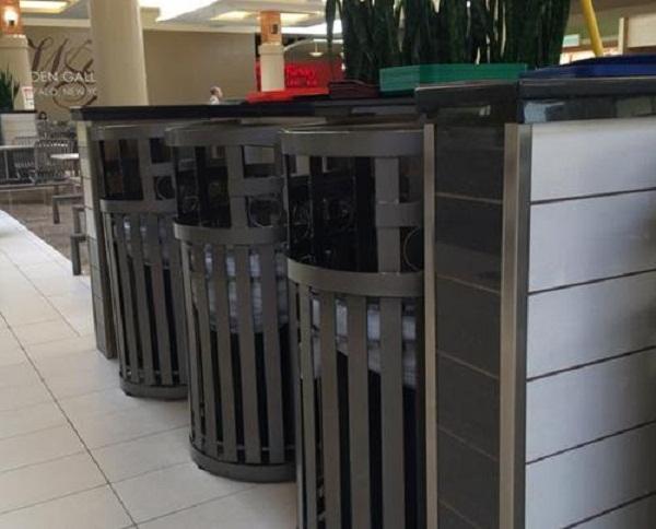 Cách thiết kế và trưng bày thùng rác tạo cảm giá sạch sẽ cho người sử dụng