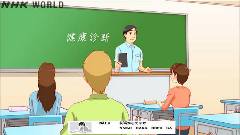 Website: NHK world cùng nhau học tiếng Nhật