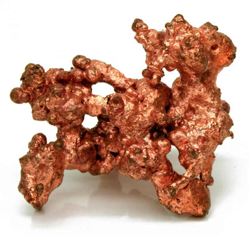 Một khối đồng trong quặng tự nhiên