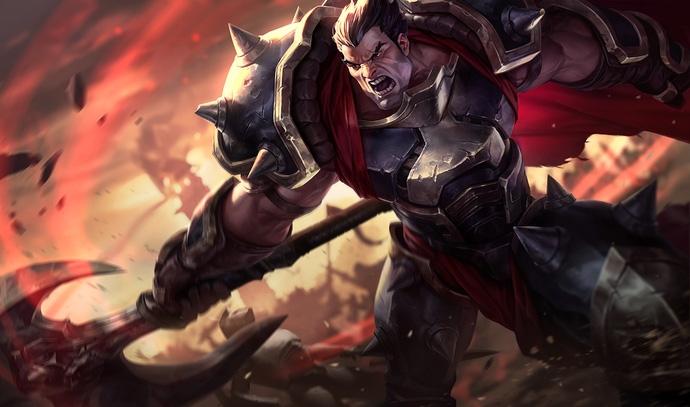 Darius đang nổi lên sau khi được làm lại bộ kỹ năng
