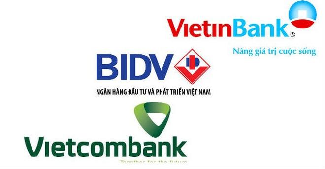 Tam trụ ngành ngân hàng đang gặp khó trong việc tăng vốn
