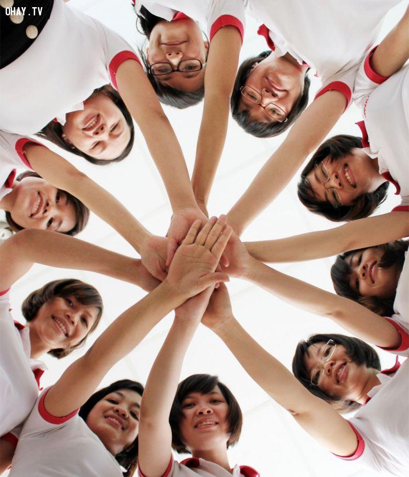 Mời tham gia các hoạt động nhóm