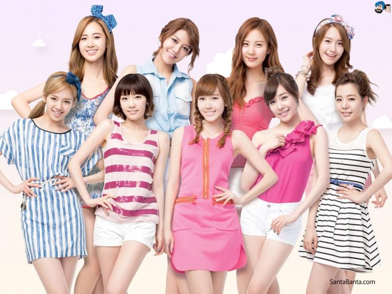 Nhóm nhạc quốc dân - Girl Generation