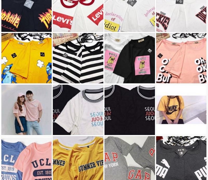 Một số mẫu áo phông hè 2017 tại Như Ngọc Shop