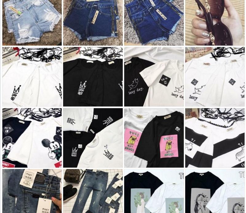 Sooc jeans, áo phông luôn là những item không ngừng hot