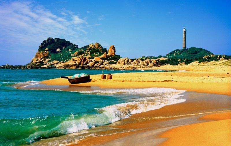 Biển Bình Thuận luôn khiến người ta mê mẩn bởi vẻ đẹp nơi đây