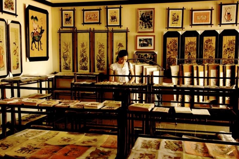 Những bức tranh về Hà Nội