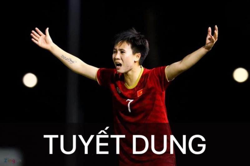 Nữ cầu thủ Tuyết Dung