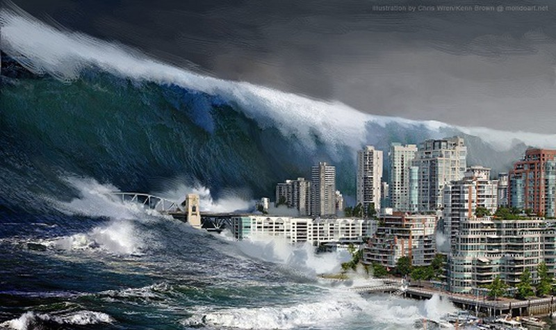 Những cơn sóng thần khổng lồ sẽ xuất hiện