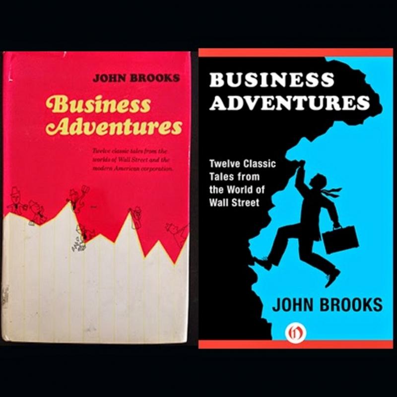 Bìa sách Những Cuộc Phiêu Lưu Trong Kinh Doanh (Business Adventures).