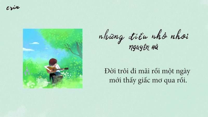 'Những điều nhỏ nhoi' - Nguyên Hà trình bày