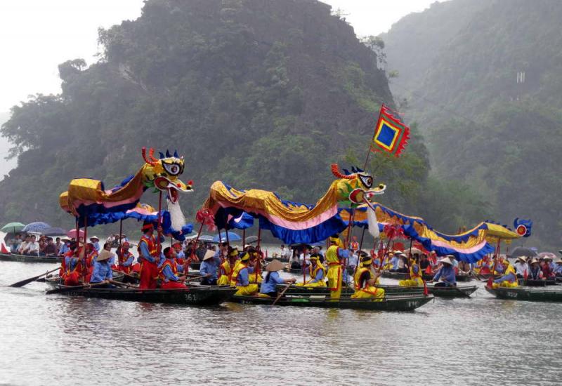 Ninh Bình được biết đến với nhiều lễ hội nổi tiếng