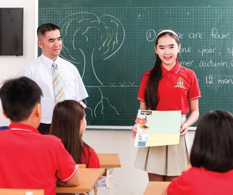 Phương pháp giảng dạy ở trường quốc tế khá khác biệt
