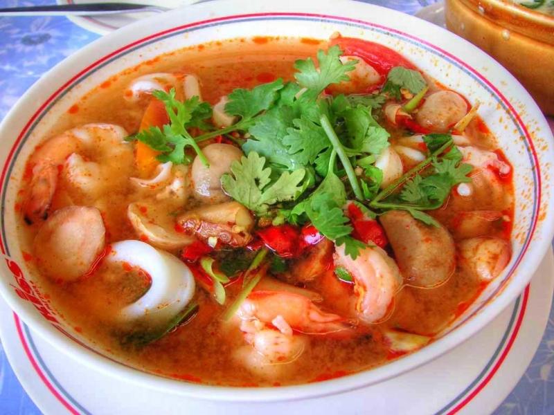 Tom Yum Goong Thái Lan.
