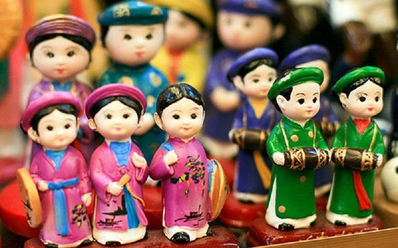 Những món đồ thủ công biểu trưng cho hình ảnh Hà Nội