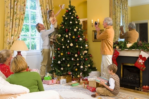 Tặng bố mẹ những món đồ trang trí Giáng sinh