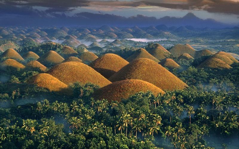 Những ngọn đồi Chocolate, Philippines