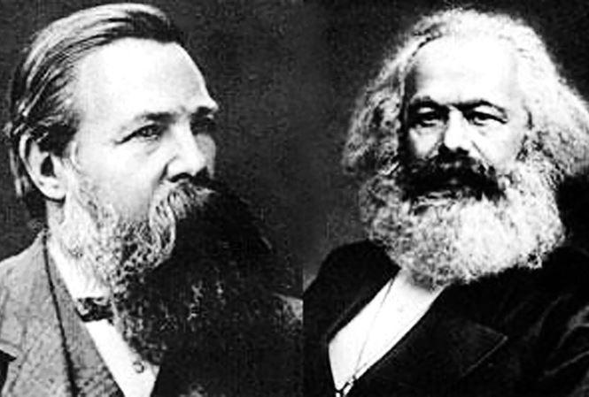 C.Mác và Ph.Ăng-ghen. Nguồn: Internet