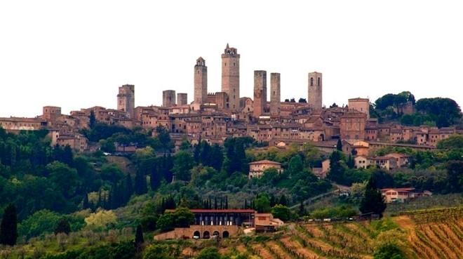 Những tòa tháp của San Gimignan