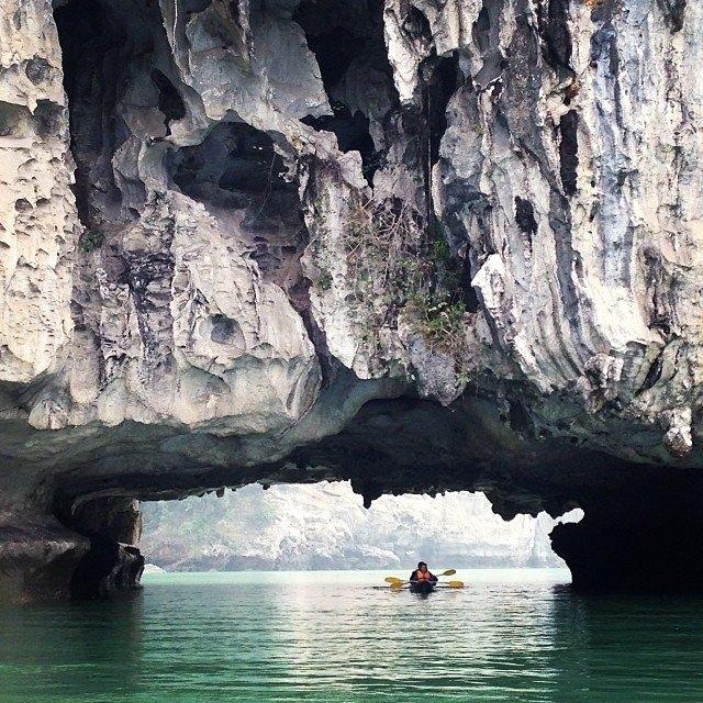 Khám phá những hang động là một trải nghiệm tuyệt vời