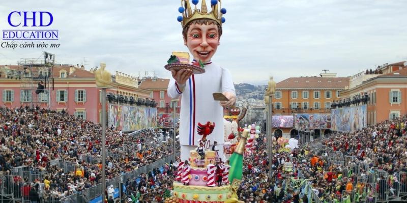 Nice Carnival - lễ hội mùa đông lớn nhất ở Pháp