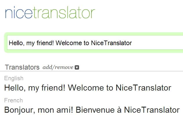 Nicetranslator.com là một trong những trang web dịch văn bản tốt nhất hiện nay