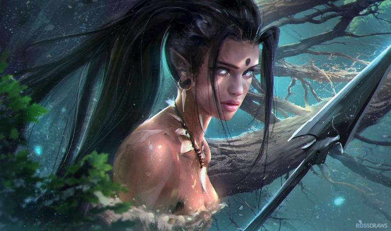 Nidalee - Nữ thợ săn hóa thú
