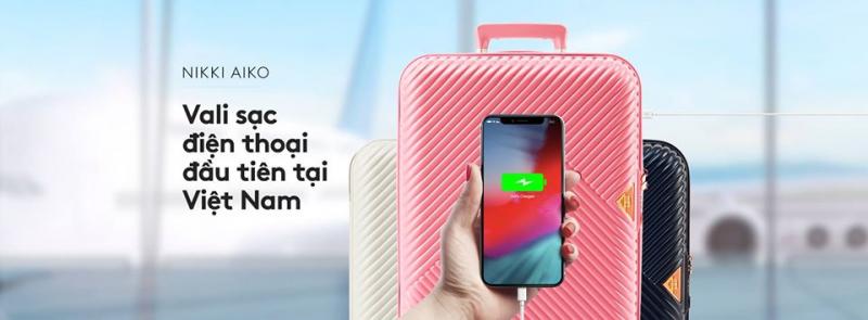 vali sạc điện thoại của NIKKI