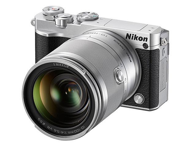 Cận cảnh máy ảnh Nikon 1 J5.