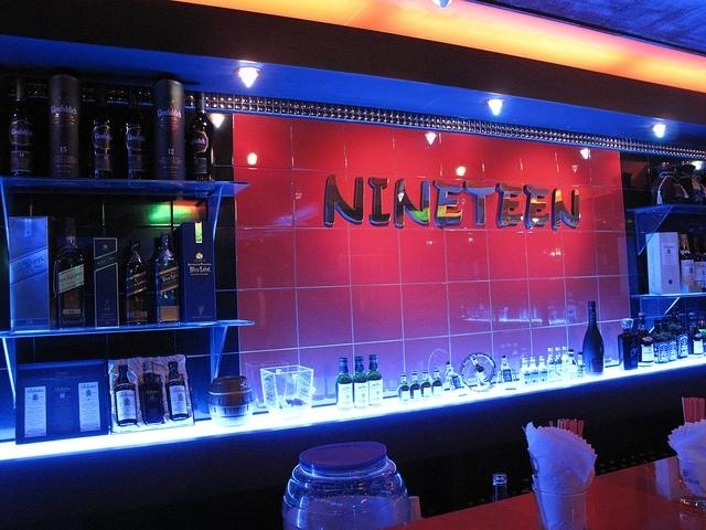 Nineteen bar