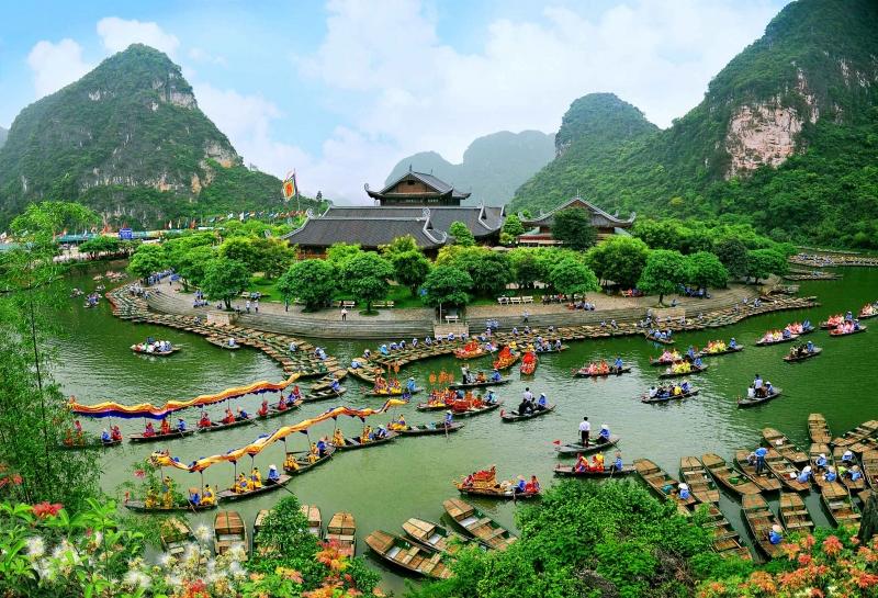 Khu danh thắng Tràng An, một địa điểm không thể bỏ lỡ khi đến Ninh Bình