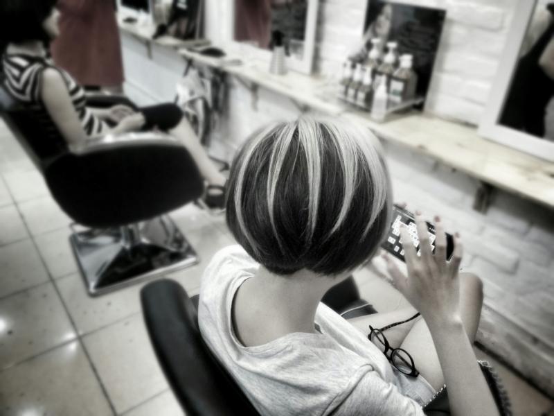 Tạo kiểu tóc ngắn siêu chất