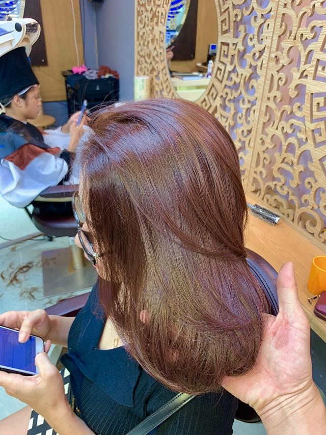 Hấp tóc tại Ninh Seoul HairStylist