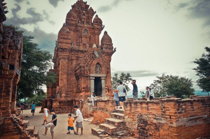 tháp Po Klong Garai mang đậm văn hóa Champa