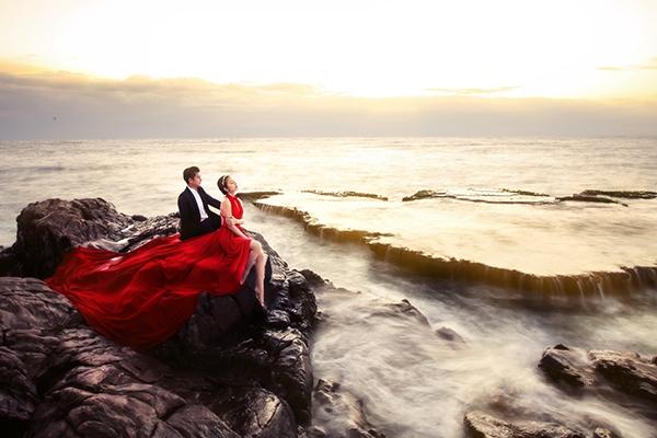 Ảnh cưới chụp tạo Hang Rái
