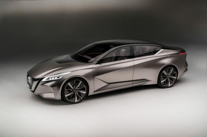 Concept tuyệt đẹp của Nissan V-motion 2.0