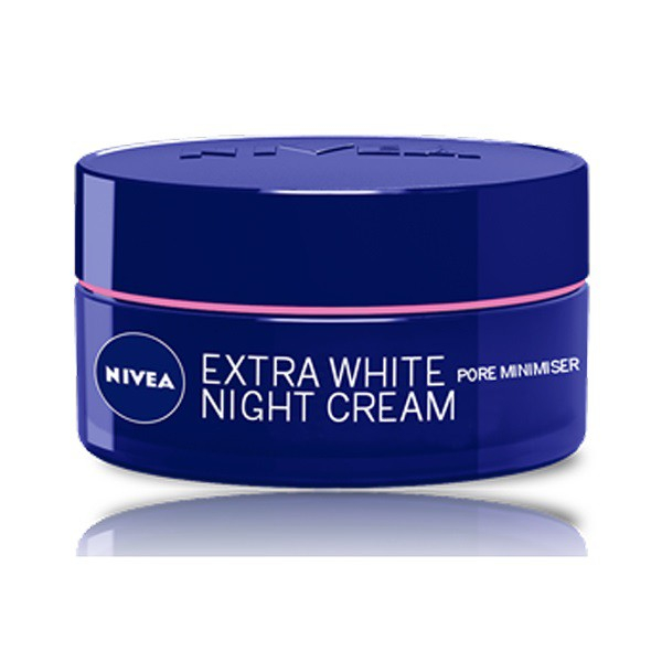 Nivea Extra White Pore Minimiser Night Cream 50ml