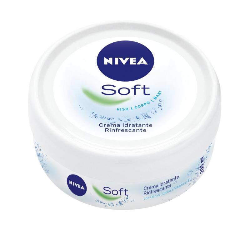 Nivea Soft là sảm phẩm dưỡng ẩm toàn thân, thích hợp cho mọi loại da, đặc biệt da nhạy cảm,