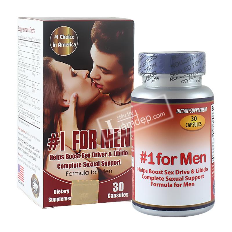 No1 For Men - Viên Uống Tăng Cường Sinh Lý Cho Phái Mạnh