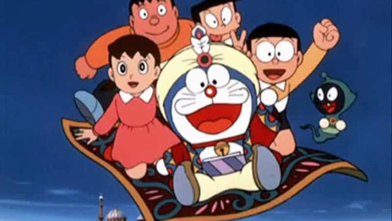 Nobita ở xứ sở nghìn lẻ một đêm.