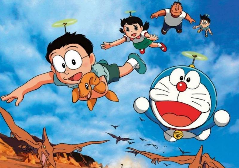 Nobita và chú khủng long lạc loài.