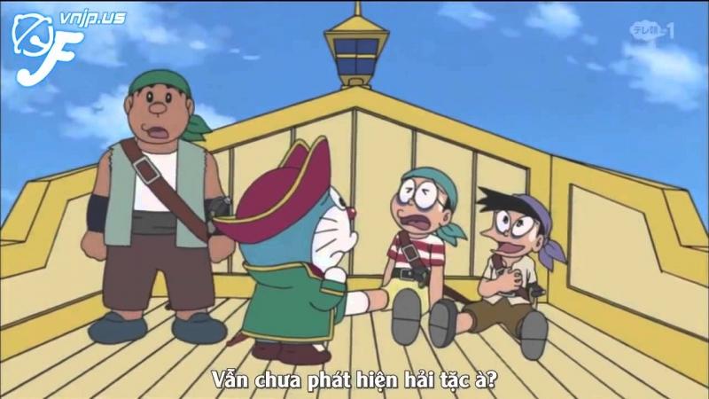 Nobita và chuyến du hành biển phương nam.