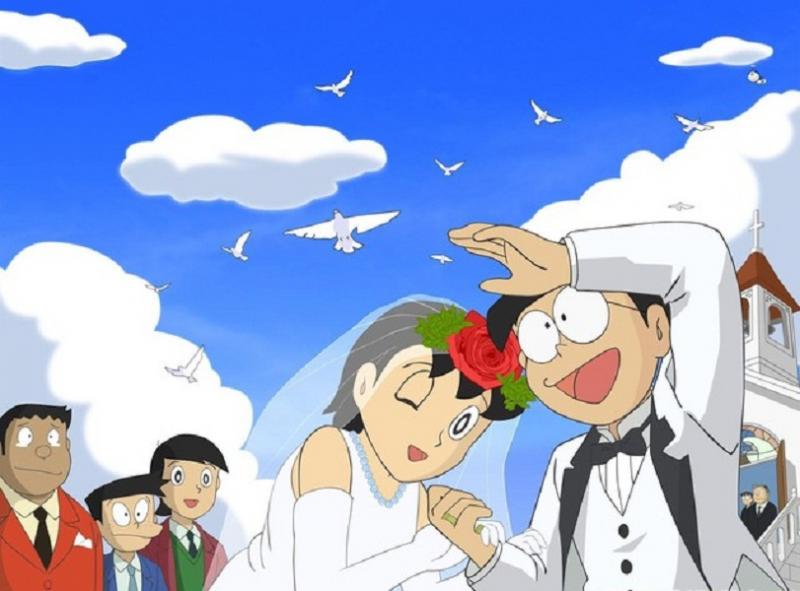 Nobita và Shizuka sẽ kết hôn