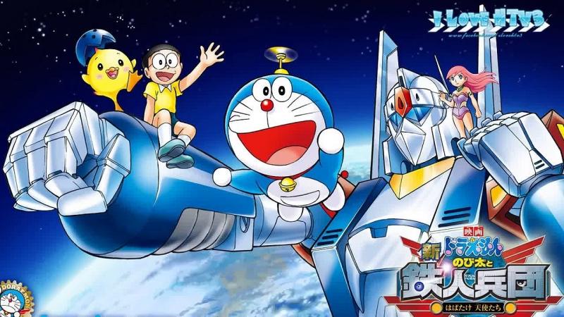 Nobita và vương quốc robot.