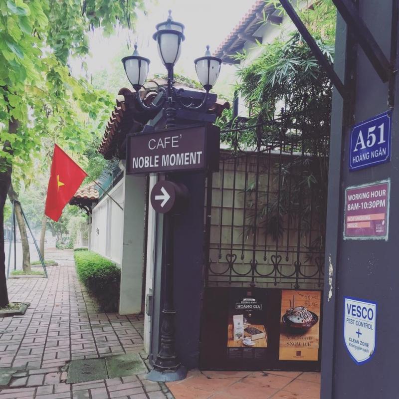 Noble Moment - Cafe' Serendipity -  Chi nhánh Hoàng Ngân