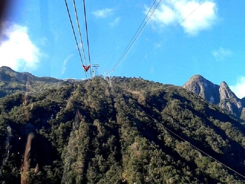 Cáp treo lên đỉnh Fanxipang