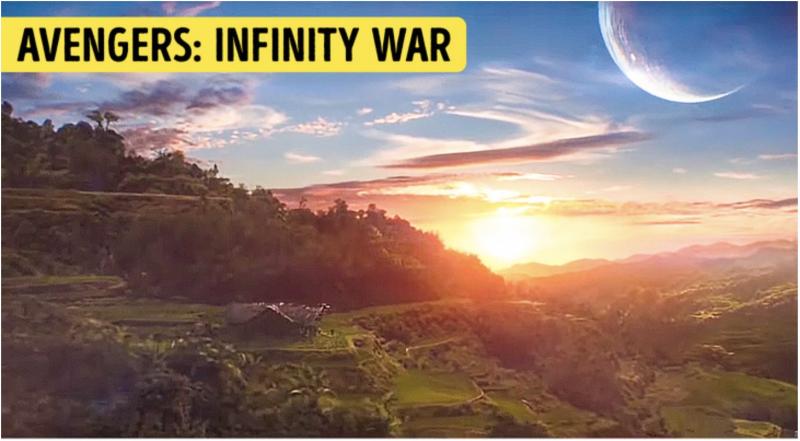 Nơi an nghỉ của Thanos trong phim