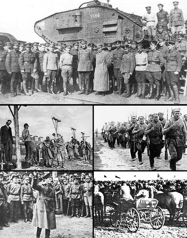 Nội chiến Nga khiến khoảng 5 triệu – 9 triệu người tử vong