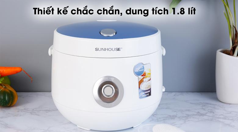 Nồi cơm điện 1.8L SUNHOUSE SHD8606