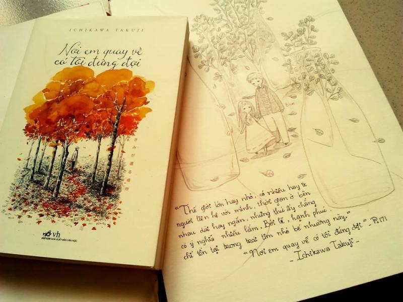 Cuốn sách Nơi Em Quay Về Có Tôi Đứng Đợi